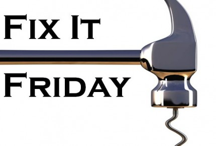 fix-it-friday